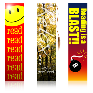 Different styles of bookmarks