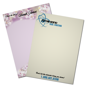Different types of letterhead